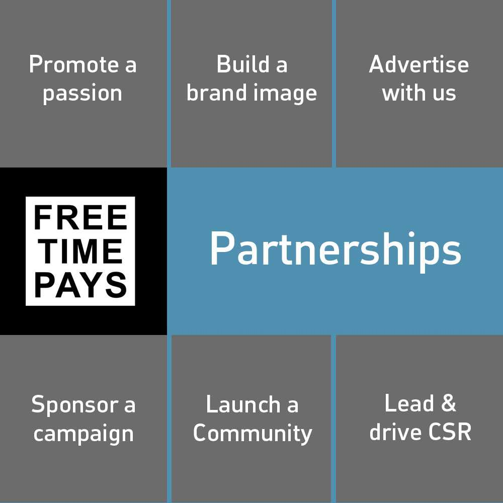 Impact focused partnerships and so much more with FreeTimePays