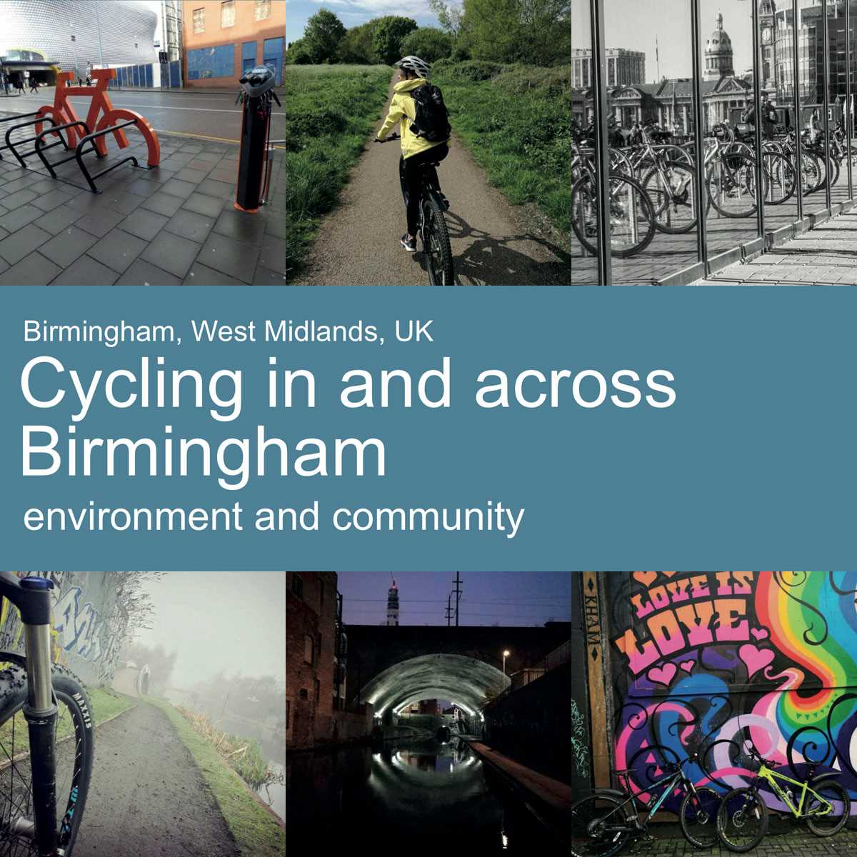Cycling in and across Birmingham